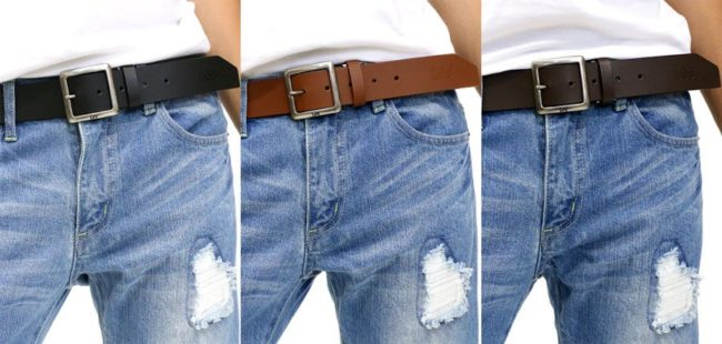 The Best Men's Belts for Jeans for the Right Fit and Style