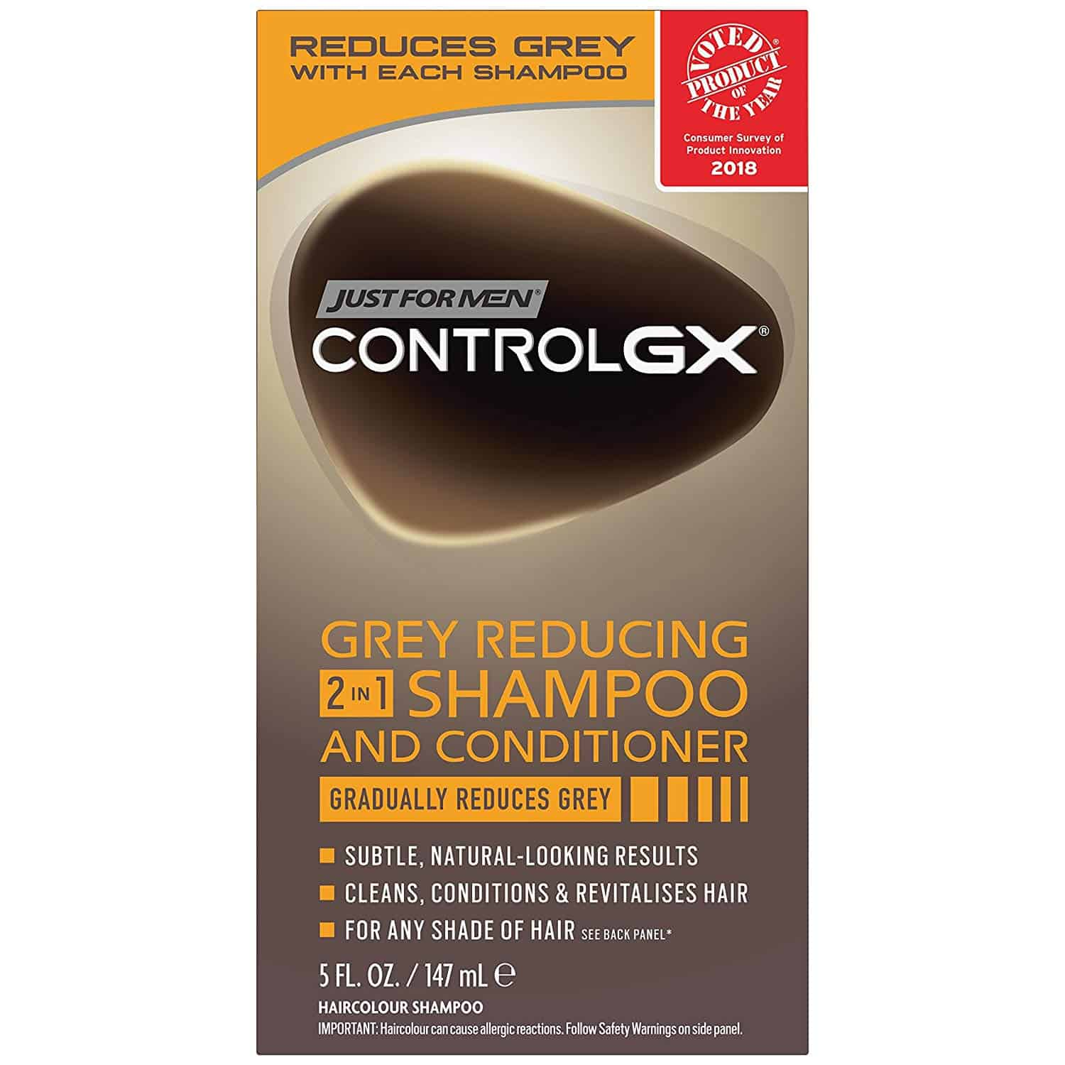 Just For Men Control GX 2 in 1 Grey Reducing Shampoo and Conditioner