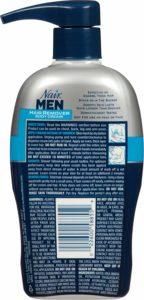Nair Hair Remover for Men Hair Remover Body Cream Backside