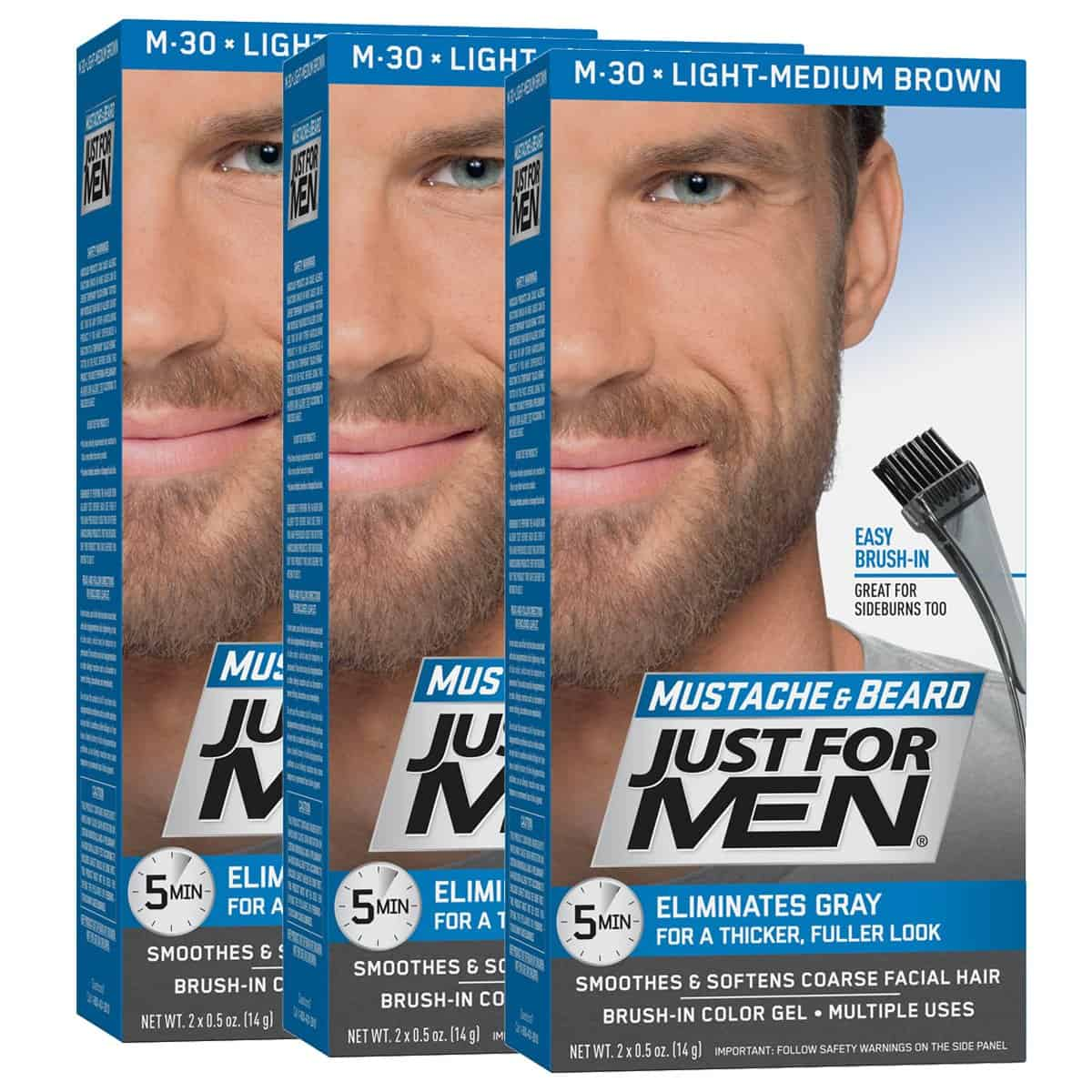 Just For Men Beard Review