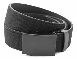 Anson Belt & Buckle Classic Black Buckle with Ratchet Belt Strap