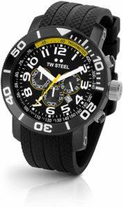 TW Steel Men's Rubber Strap Watch