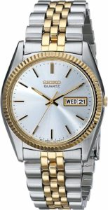 Seiko Men's SGF204 Two-Tone Watch