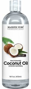 Majestic Pure Fractionated Coconut Oil for Hair