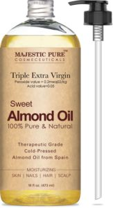 Majestic Pure Sweet Almond Hair Oil