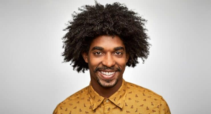 How to Get Curly Hair for Black Men
