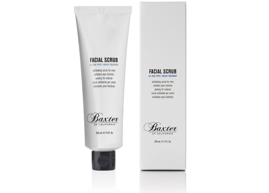 Baxter facial scrub review