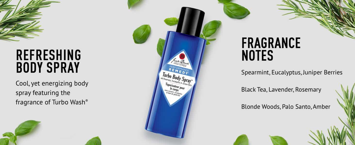 Jack Black Turbo Body Spray Review