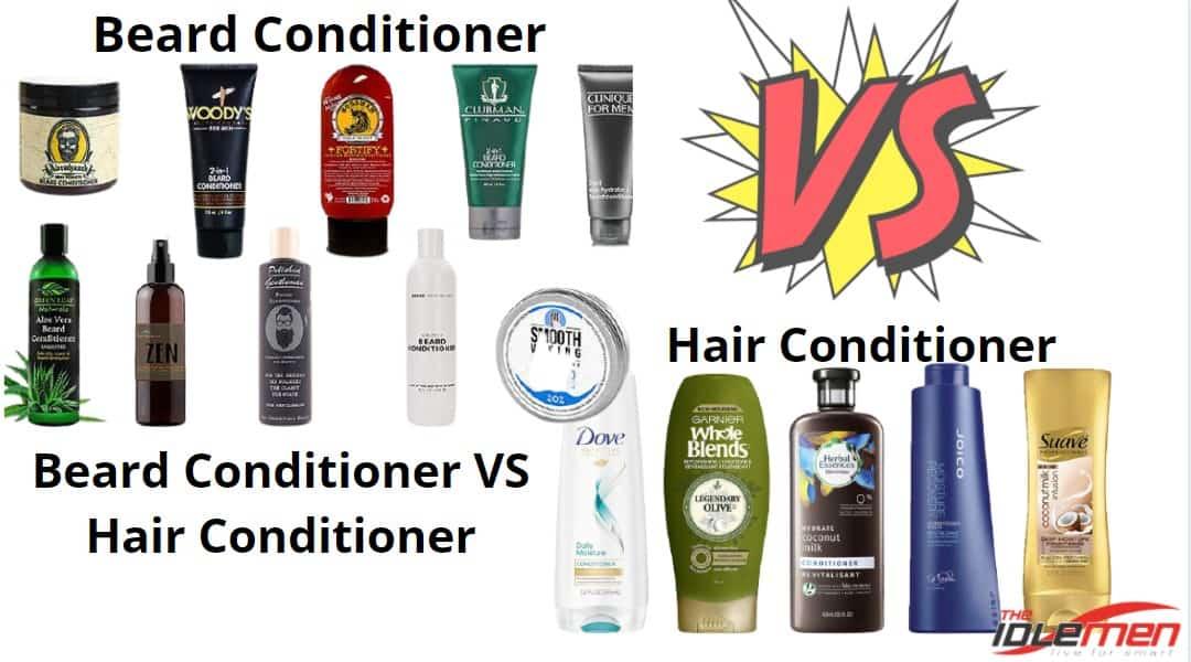 Beard Conditioner VS Hair Conditioner